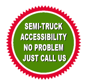 truck accessible facility